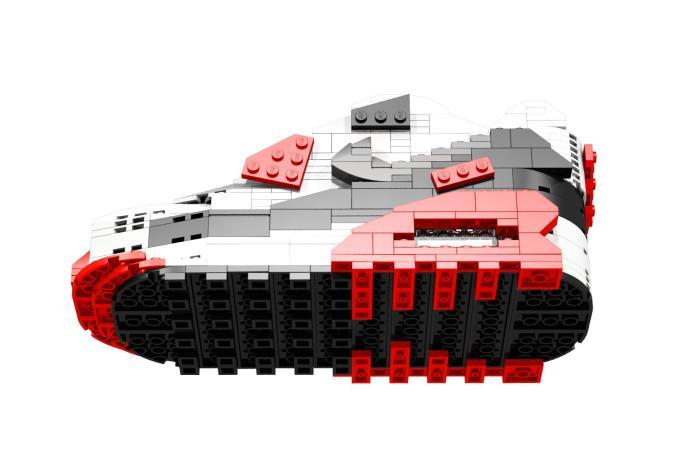 "Nike AIr Max 90 ""IInfrared"" Lego Model by Tom Yoo   Complex"