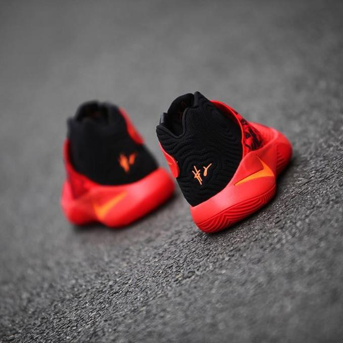 size 40 83abf 151b9 ... the Kyrie 2 s third official colorway and the first one in 2016. Fans  looking to cop the Infernos can do so on New Year s Day with retail price  slated ...