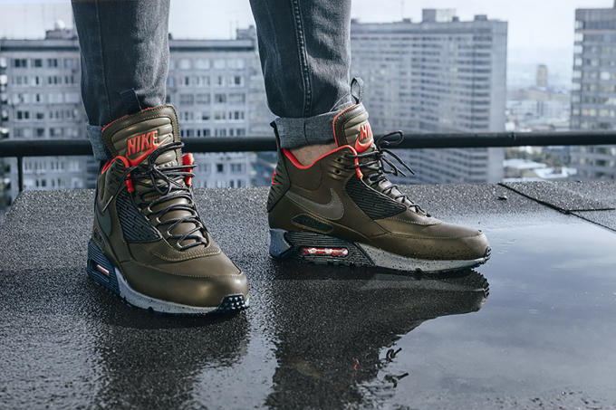 Nike Sneakerboots Holiday 2015 Lookbook in Moscow | Complex
