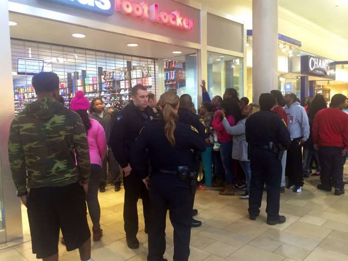 2089d3d885f Sneakerheads Lined Up for