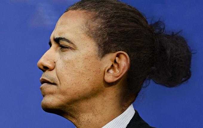 World Leaders Are Reimagined With Man Buns Complex