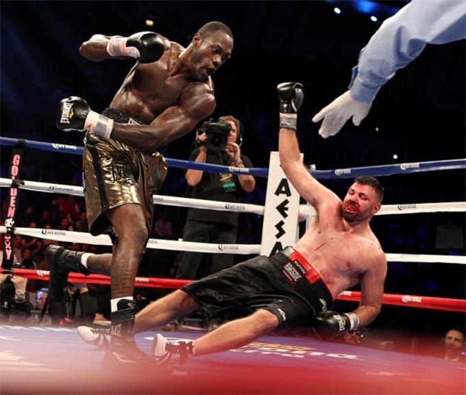 Deontay Wilder Is Ready To Give Tyson Fury A World