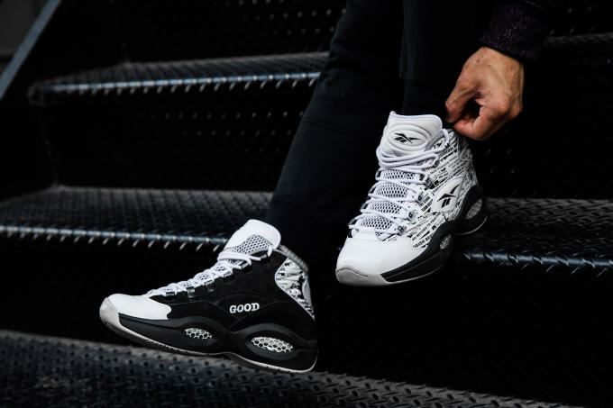 The Reebok Question s 20th anniversary continues with the release of this