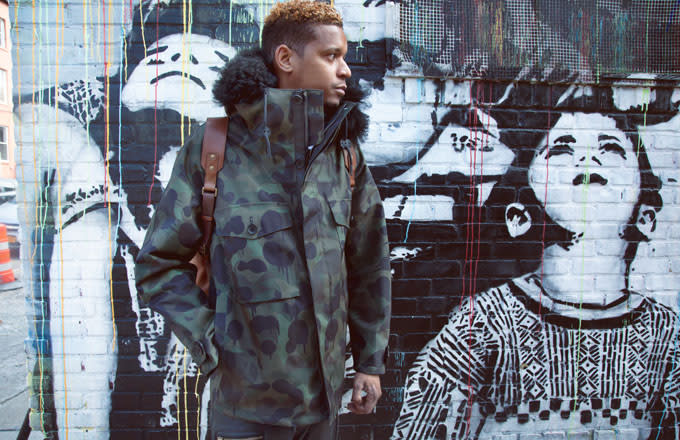 Roble Ali A.K.A. Chef Roble wears the COACH Military Wild Beast Jacket in Williamsburg.