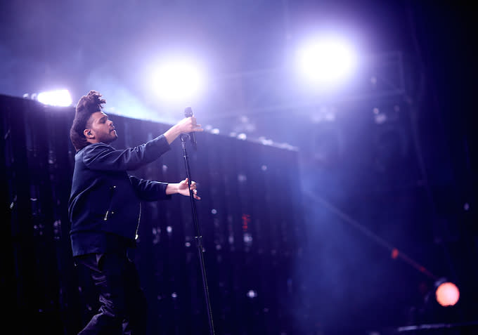 The Weeknd Coachella Christopher Polk/Getty Images