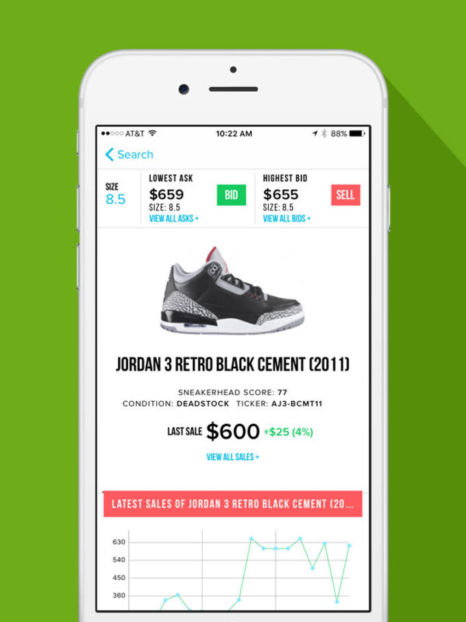 86fc4c49 StockX Launches iOS App to Make Buying and Selling Sneakers Easier ...