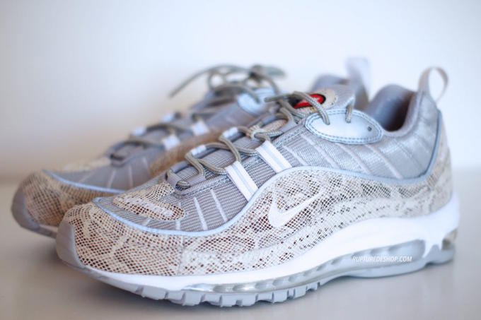 Supreme x Nike Air Max 98 Detailed Images via Rupture Store