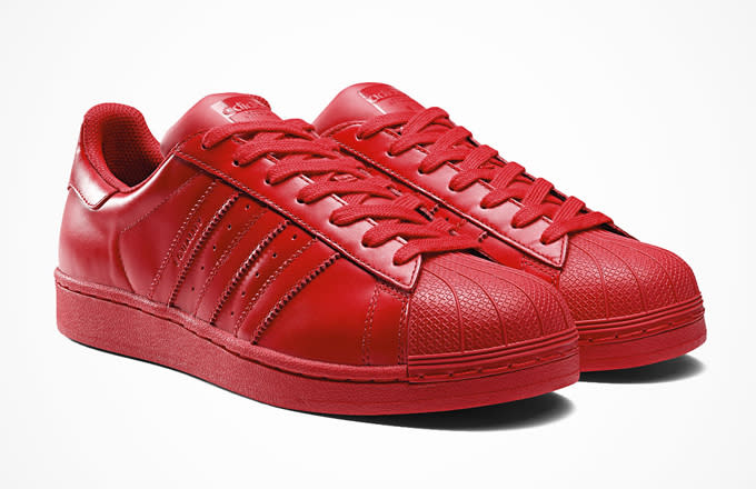 timeless design ed354 f1e83 Pharrell already showed off some of the styles as he sat in a circle of  Superstars last year, but heres a closer look at just some of the vibrant,  ...