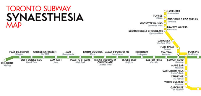 Toronto Subway Map.Here S What Every Toronto Subway Station Tastes Like Complex