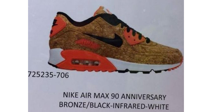 317ea8fc1a For the O.G. running 'heads, get ready to celebrate 25 years of Air Max 90  greatness by poppin' a few bottles and picking up these cork runners.