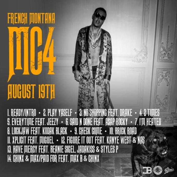 French Montana MC4 Tracklist