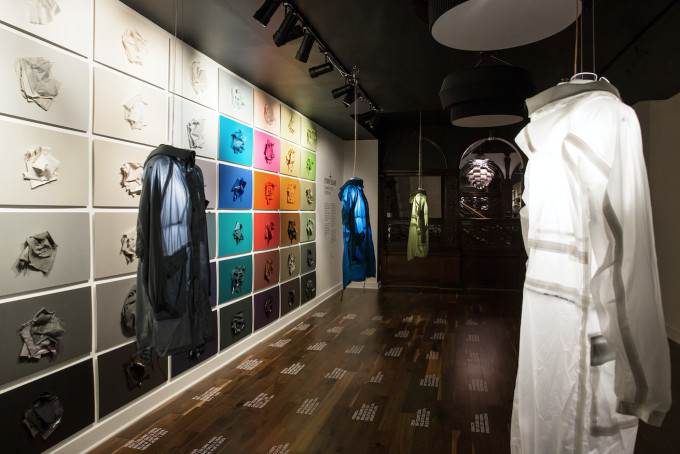 This is Stone Island's exhibition with UNIQ.