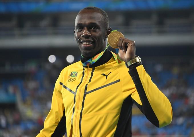 Usain Bolt 200M Medal Ceremony 2016 Olympics Rio