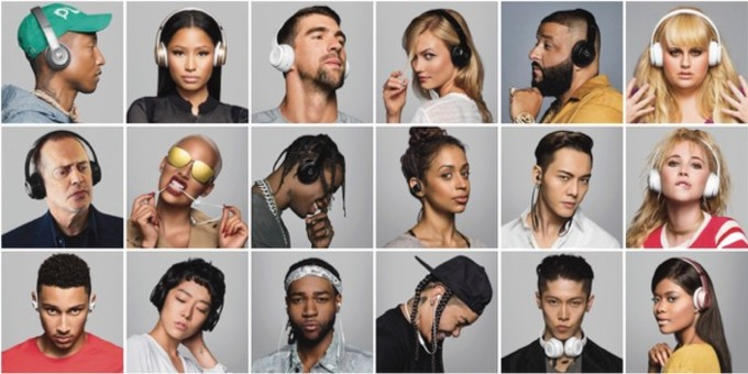 This is the cast of Beats by Dre's