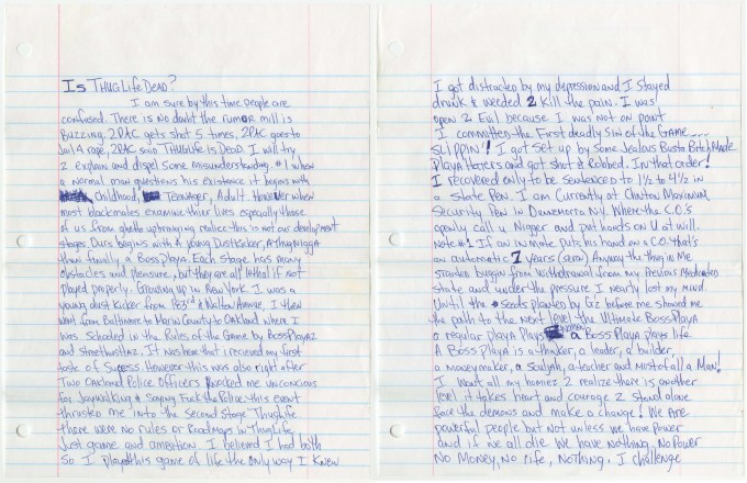 Pac Letter