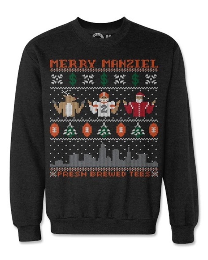best service c8823 10f3f Here Are Ugly NFL Christmas Sweaters | Complex