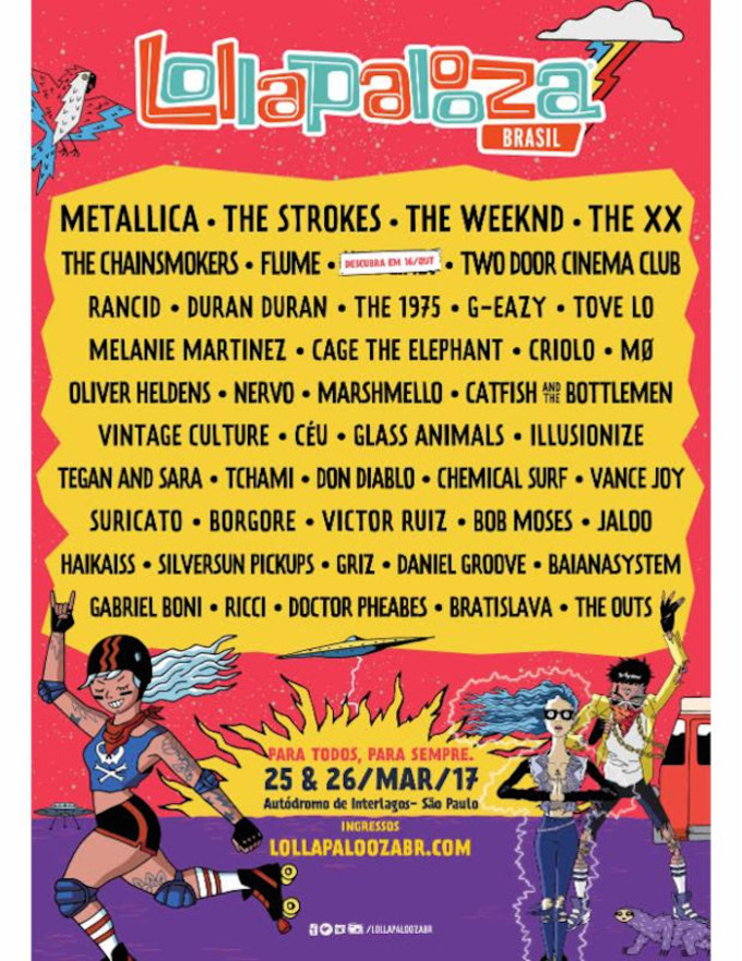 Lollapoolza Brazil