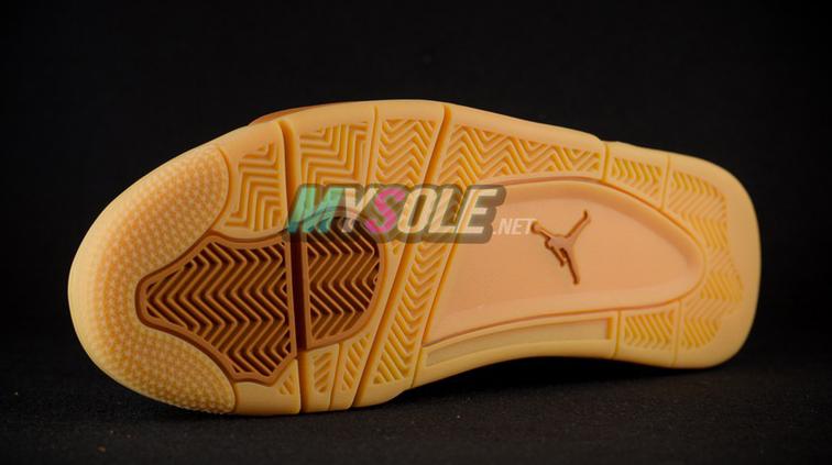 Wheat Jordan 4 819139-205 Sole