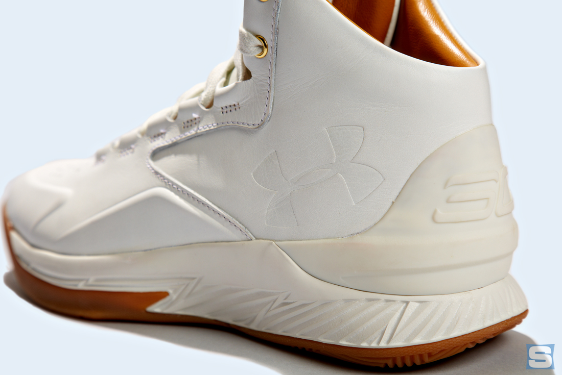 Under Armour Curry Lux White Gum Detail