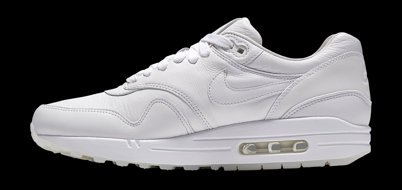 Nike Air Max 1 Pinnacle Black White Leather Reflective