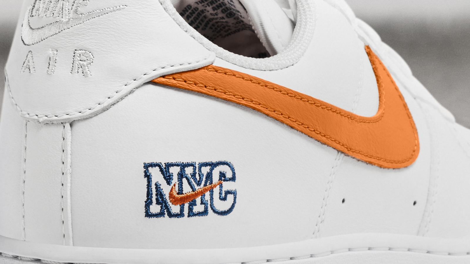 NYC Nike Air Force 1 Low White Orange Blue | Sole Collector