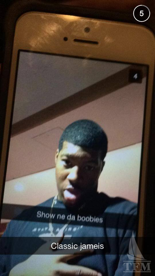 winston really send this creepy snapchat photo to a female complex