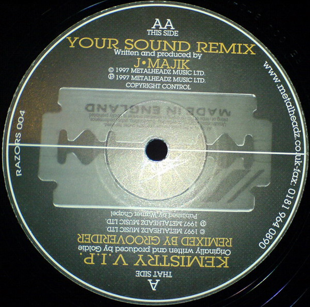 your sound rmx vinyl 25 Essential Metalheadz Tracks