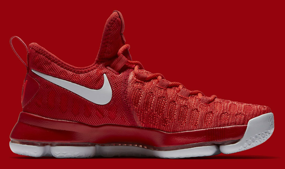size 40 d9415 750ff Nike KD 9 Varsity Red/White Release Date 843392-611 | Sole ...