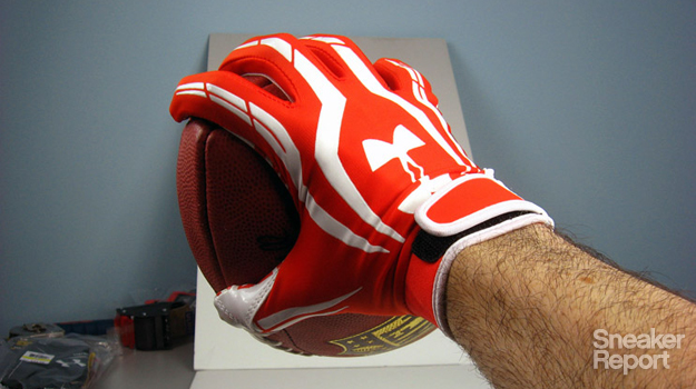 testing out the stickiest football glove complex