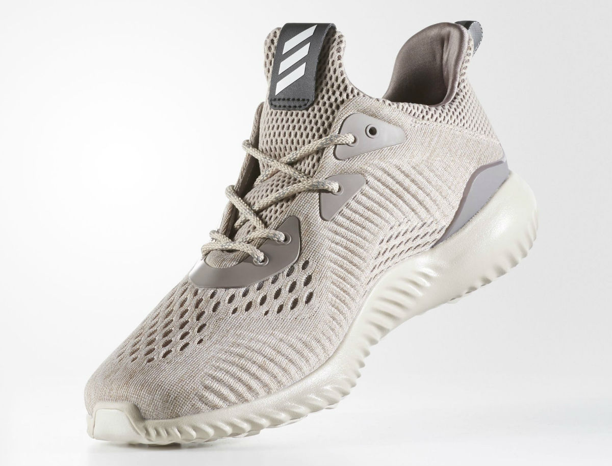 wholesale dealer 5a2e1 641ce Adidas AlphaBounce EM Tech Earth Clear Brown Crystal White .