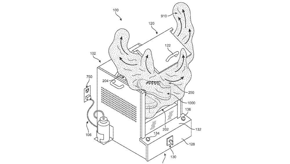 Nike Flyknit Steam Machine Patent