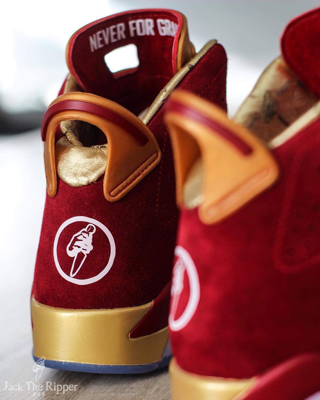 Air Jordan 6 Blood Red Custom Jack the Ripper | Sole Collector