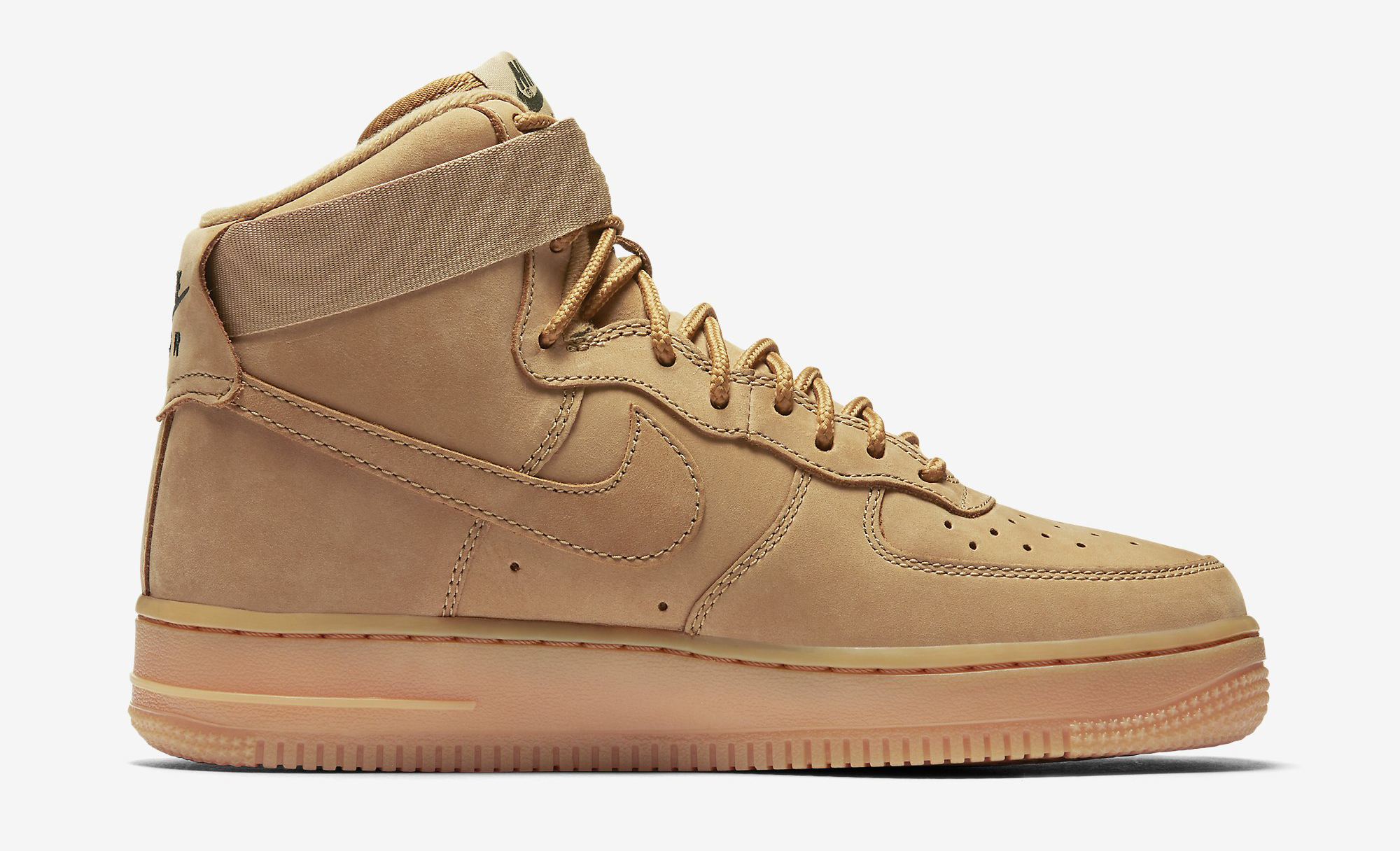 new styles d601d f5ee4 Wheat Nike Air Force 1 High Womens 654440-200 | Sole Collector