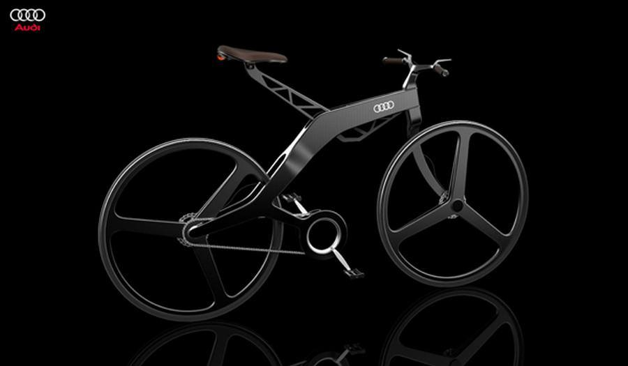 Audi bike concept by Vladimer Kobakhidze