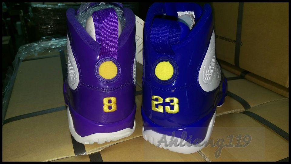 Air Jordan 9 Kobe PE Comparison | Sole
