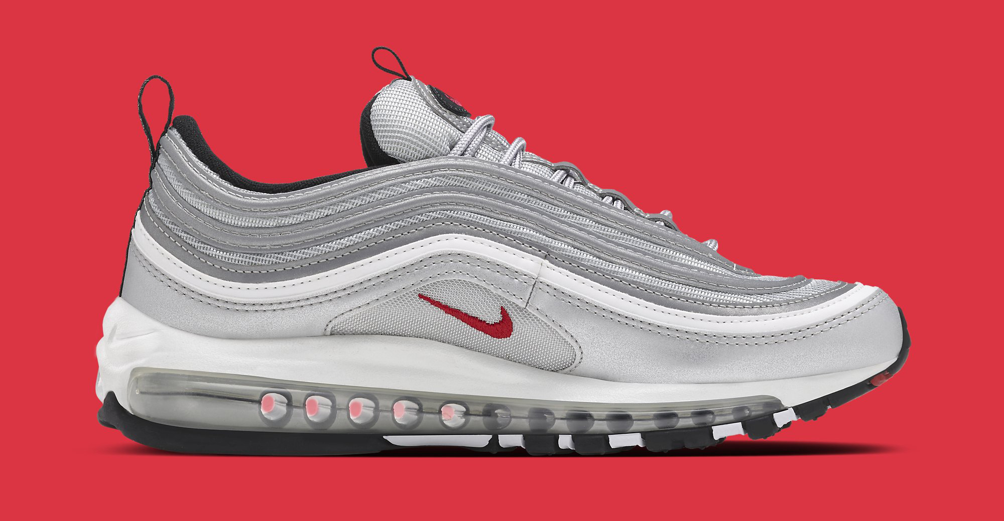 Silver Nike Air Max 97 884421-001 Medial