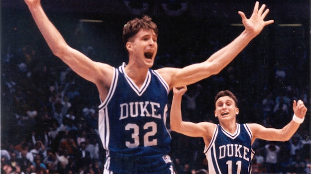 christian laettner bobby hurley duke blue devils  The Sneakers Worn for the 15 Best Performances in the History in Duke Basketball History