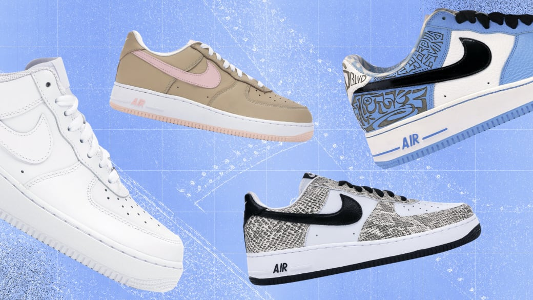 Various Nike Air Force 1 Sneakers