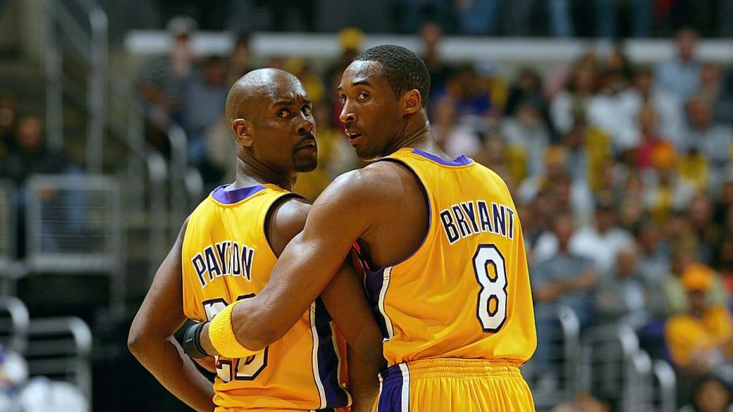 Gary Payton Kobe Bryant 2004