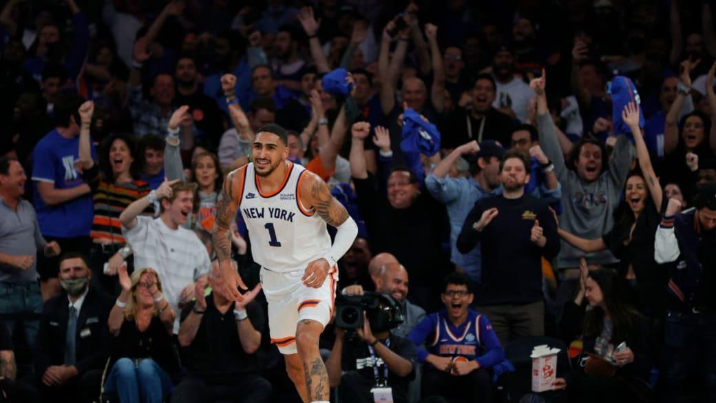 Obi Topping Knicks Celtics Oct 2021