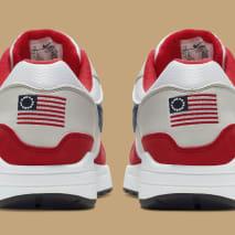 Nike Air Max 1 'Fourth of July' CJ4283-100 (Heel)
