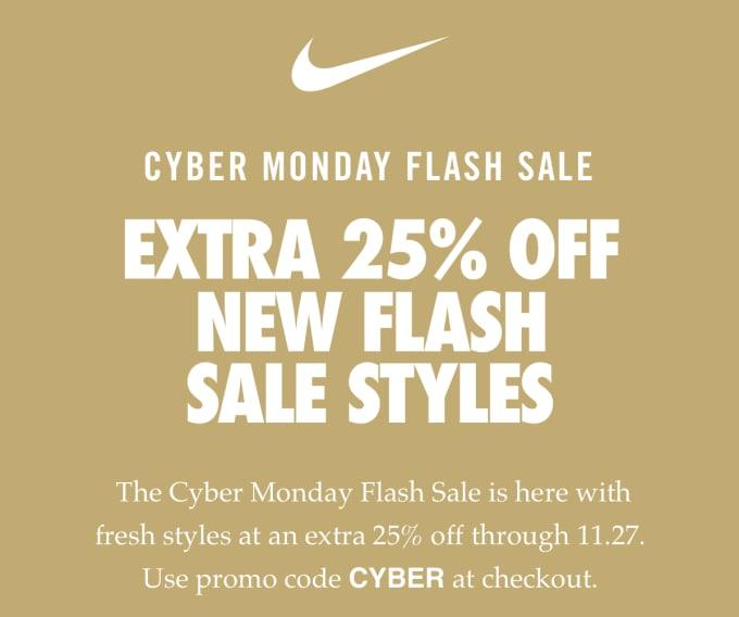 promo code 49c41 9f4d9 Nike Cyber Monday 2018