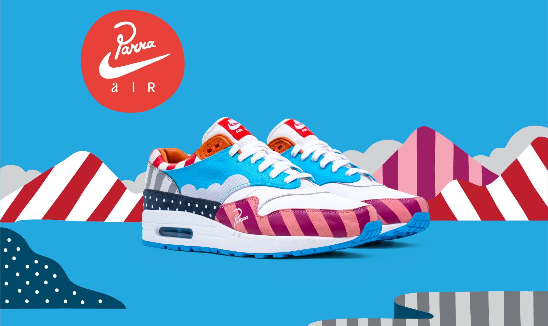 6f052c6390d Parra x Nike Air Max 1 (Friends and Family)
