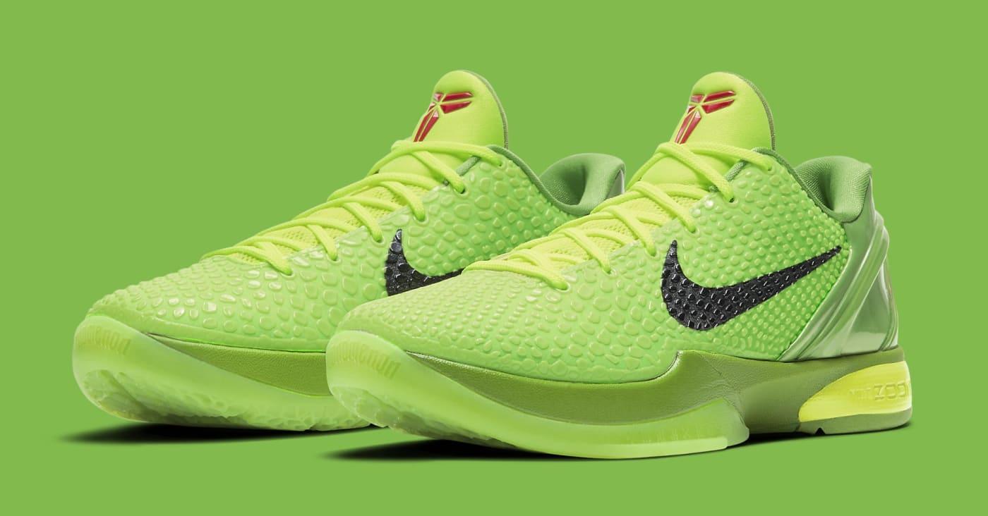 Nike Kobe 6 Protro 'Grinch' CW2190 300 Pair