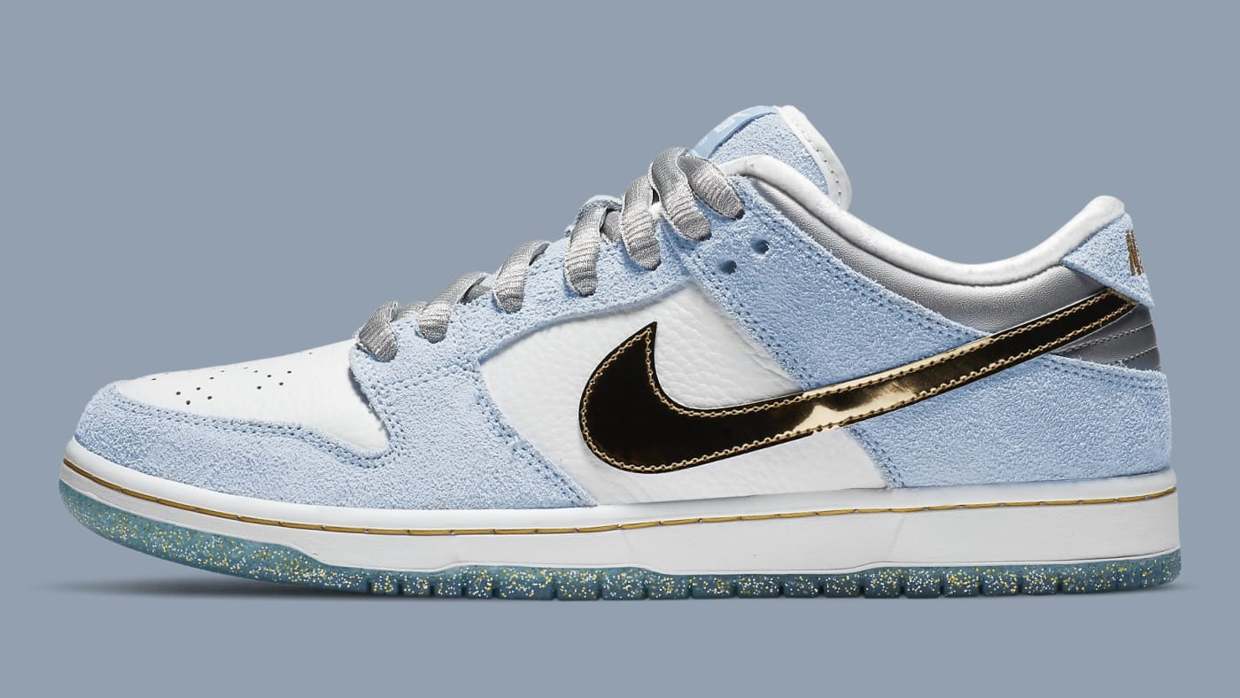 Sean Cliver x Nike SB Dunk Low DC9936 100 Lateral