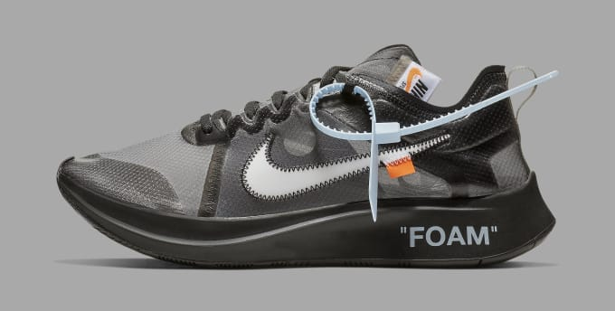 super popular b3bc7 79d71 Off-White x Nike Zoom Fly  Black