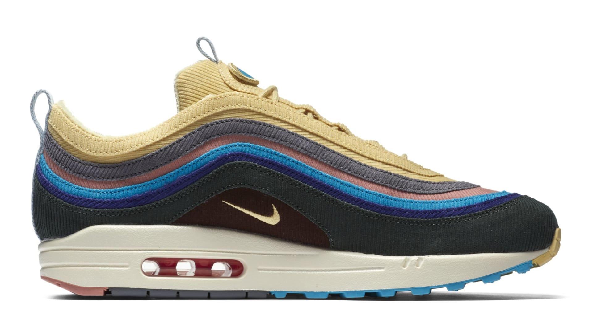 Sean Wotherspoon x Nike Air Max 1/97 AJ4219-200 (Medial)