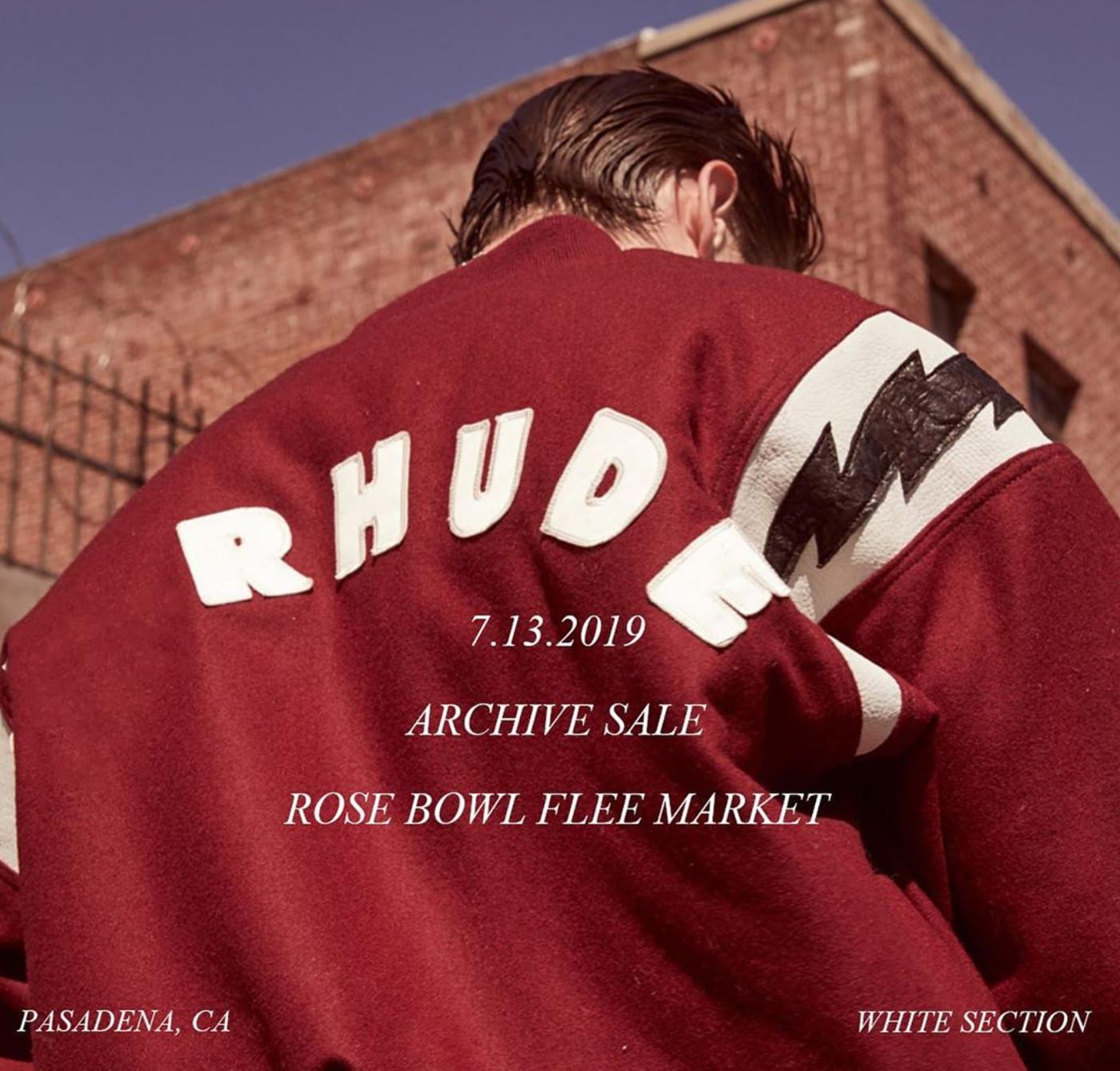 Rhude Archive Sale