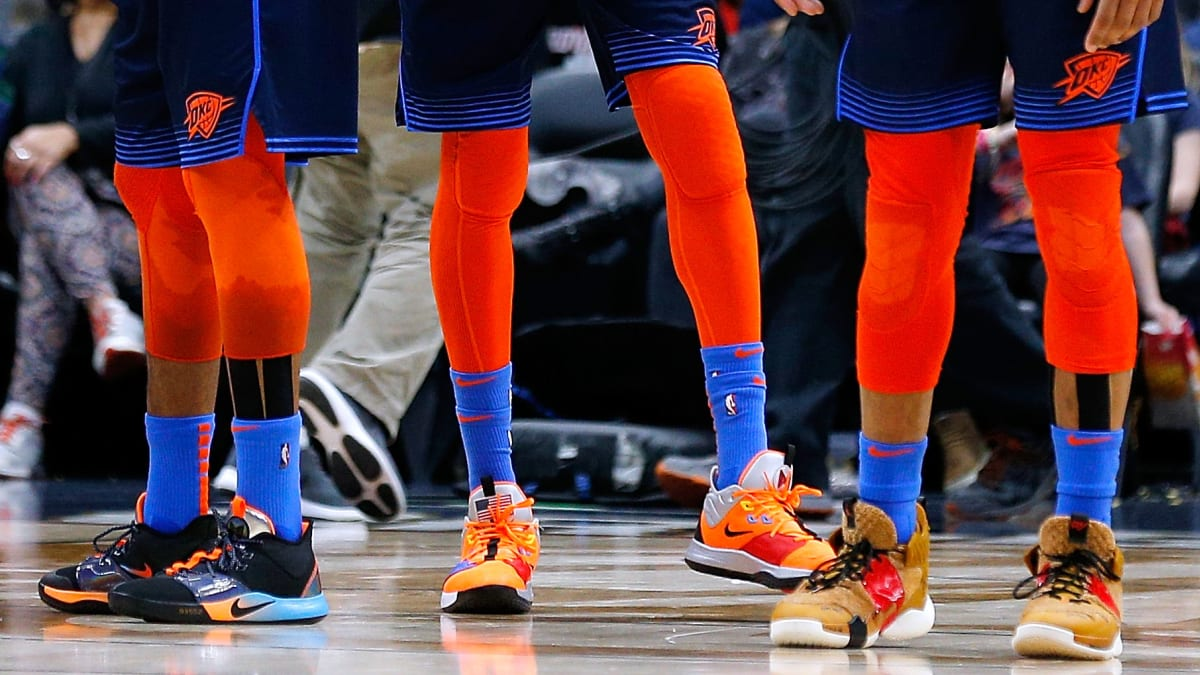 Why the OKC Thunder Is Saving Sneakers From Every Player