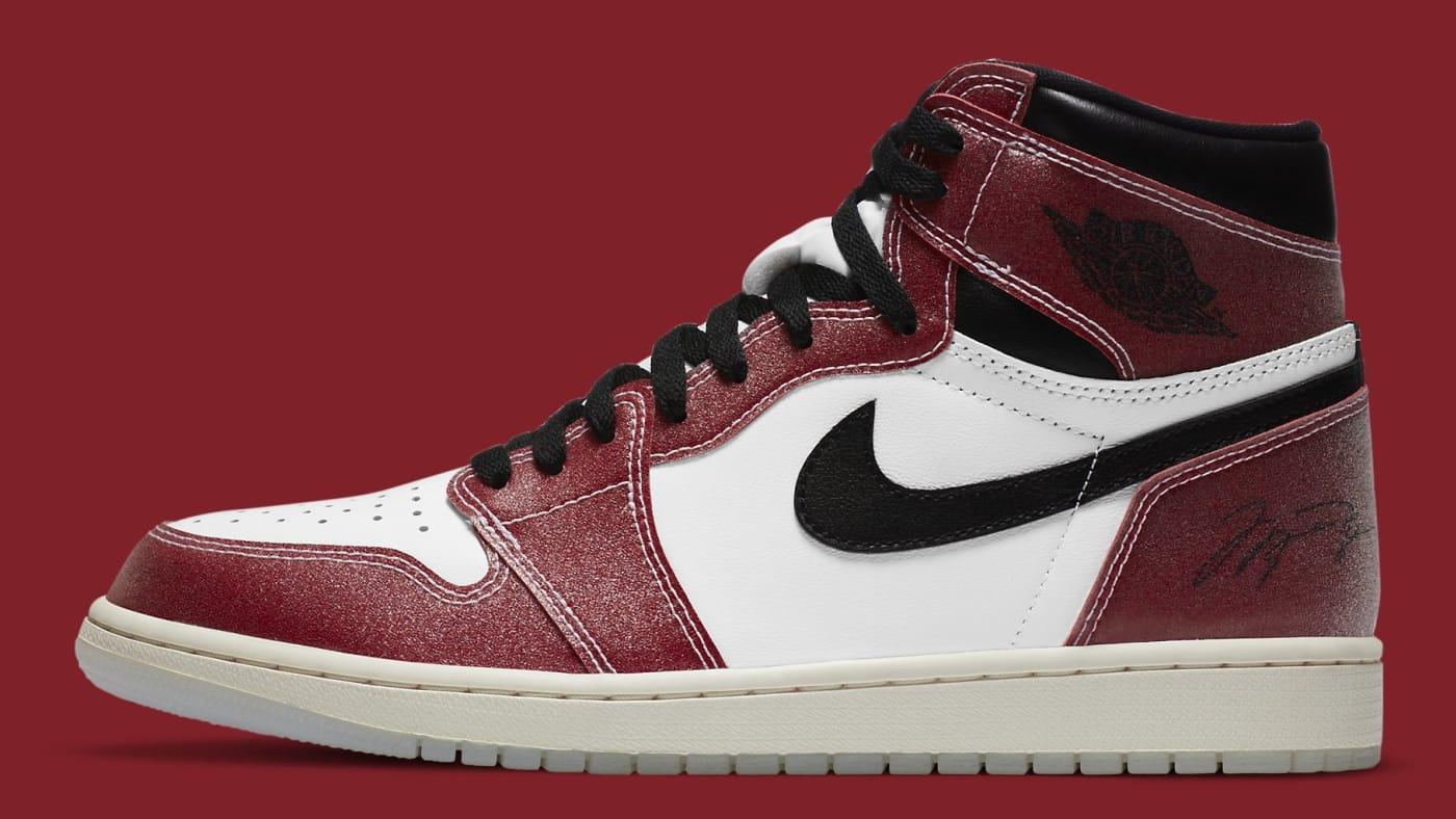Trophy Room x Air Jordan 1 Release Date DA2728 100 Profile